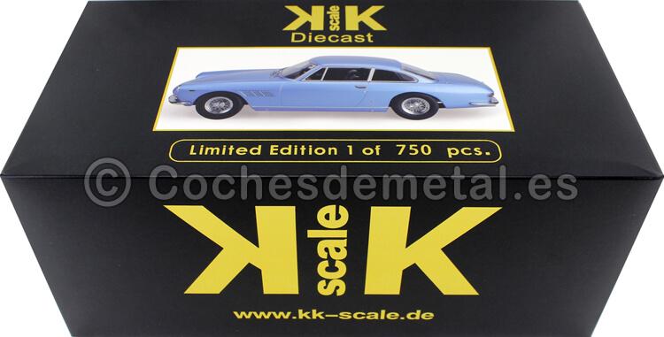 180423 - 1964 Ferrari 330 GT 2+2 Azul Metalizado 1:18 KK-Scale 180423