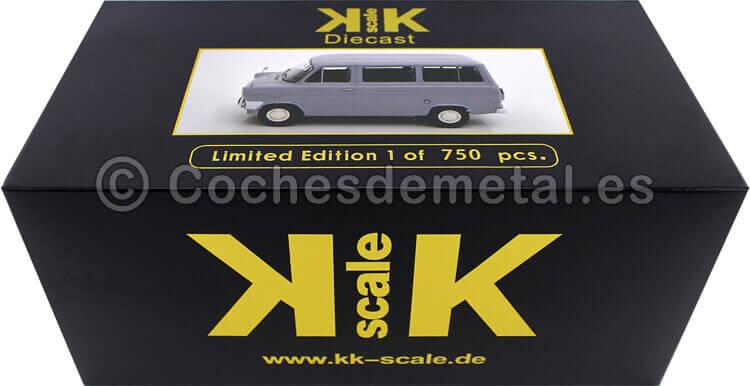 1965 Microbus Ford Transit MK1 Gris 1:18 KK-Scale 180461