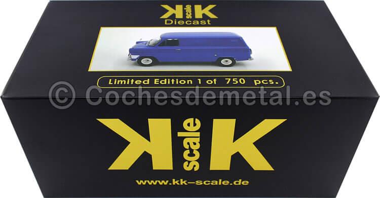 1965 Camioneta Ford Transit MK1 Azul 1:18 KK-Scale 180491