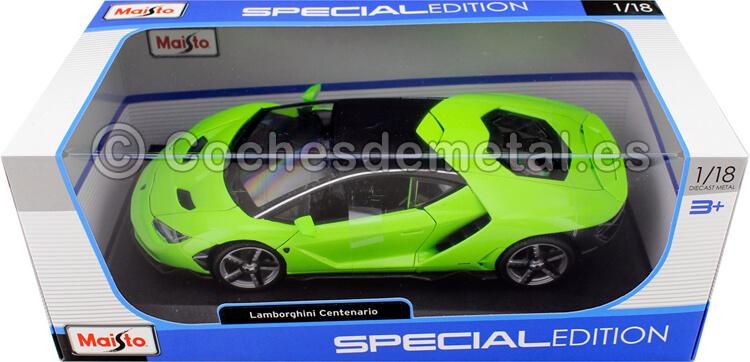 2016 Lamborghini Centenario LP-770 Verde Pistacho 1:18 Maisto 31386