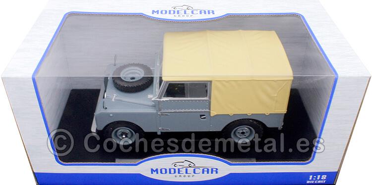 1957 Land Rover Series I RHD Gris/Beige 1:18 MC Group 18178