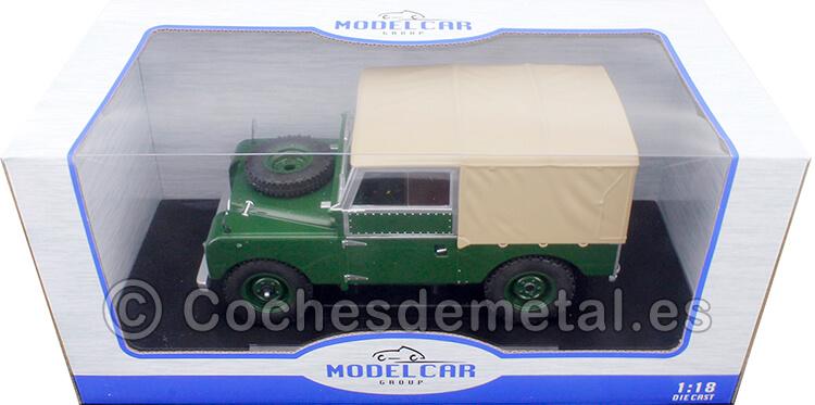 1957 Land Rover Series I RHD Verde/Beige 1:18 MC Group 18179