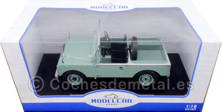 1957 Land Rover Series I RHD Convertible Verde 1:18 MC Group 18180