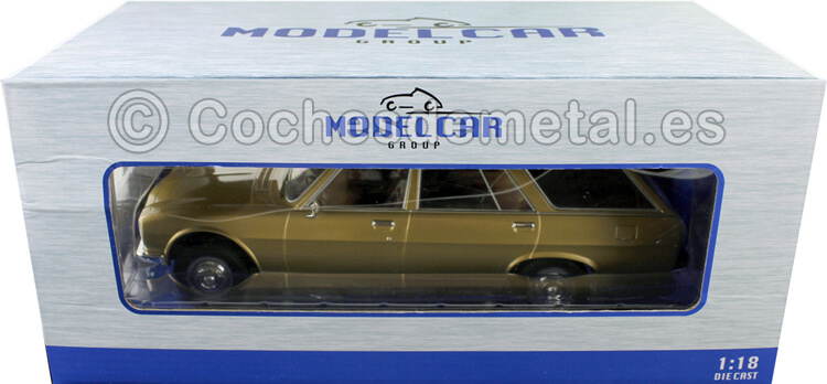 1976 Peugeot 504 Break Dorado 1:18 MC Group 18212