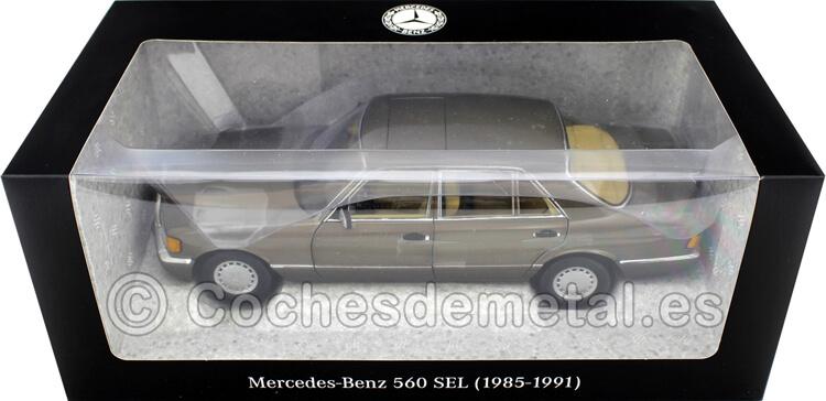 1985 Mercedes-Benz 560 SEL (V126) Impala Marron 1:18 Dealer Edition B66040646