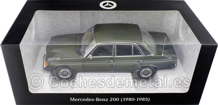1980 Mercedes-Benz 200 (W123) Green Metallic 1:18 Dealer Edition B66040654
