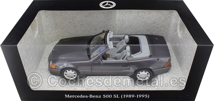 1989 Mercedes-Benz 500 SL Convertible (R129) Bornit Metallic 1:18 Dealer Edition B66040655