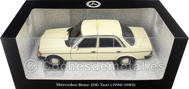 1980 Mercedes-Benz 200 (W123) TAXI Berlin 1:18 Dealer Edition B66040670