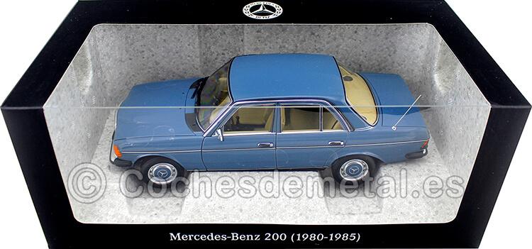 1980 Mercedes-Benz 200 (W123) Azul China 1:18 Dealer Edition B66040675