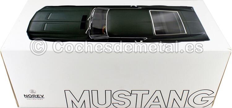 1968 Ford Mustang Fastback Satin Green Metallic 1:12 Norev 122702