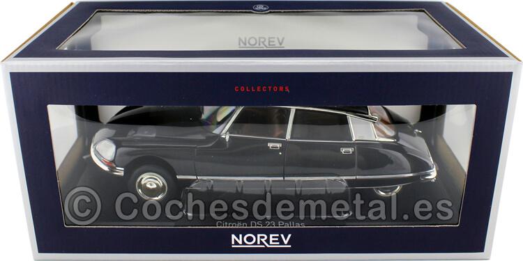1974 Citroen DS 23 Pallas Black 1:18 Norev 181482
