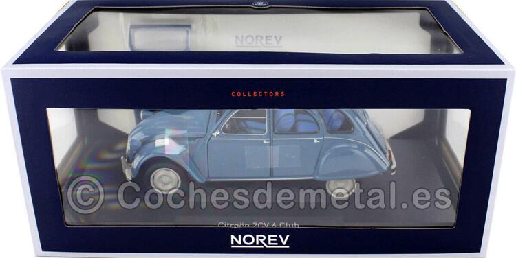 1982 Citroen 2CV 6 Club Laguna Azul 1:18 Norev 181492