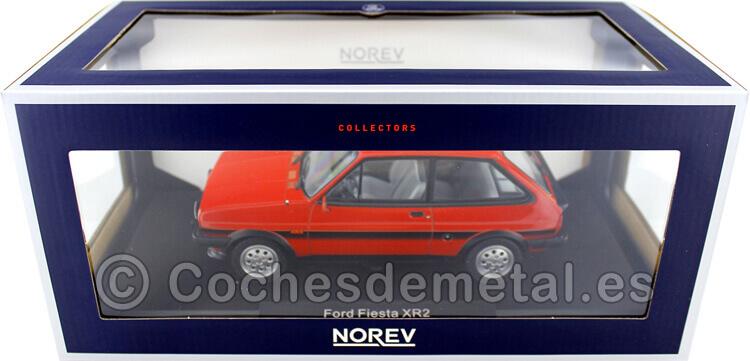 1981 Ford Fiesta XR2 Red 1:18 Norev 182741