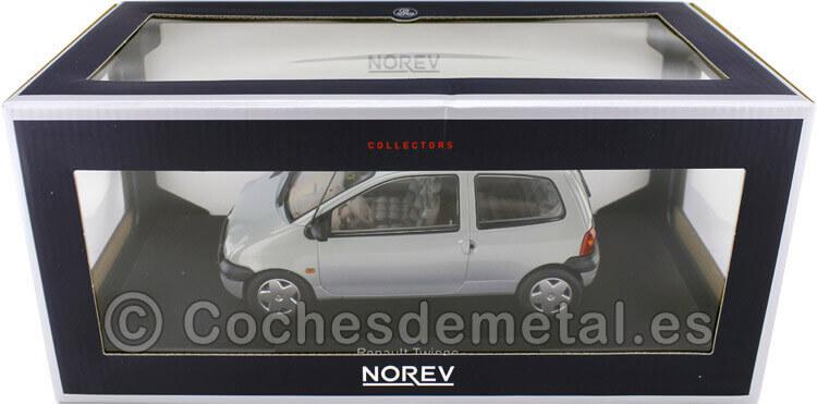 1998 Renault Twingo Boreal Silver 1:18 Norev 185294