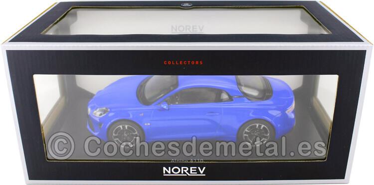 2018 Alpine A110 Legende Alpine Blue 1:18 Norev 185312