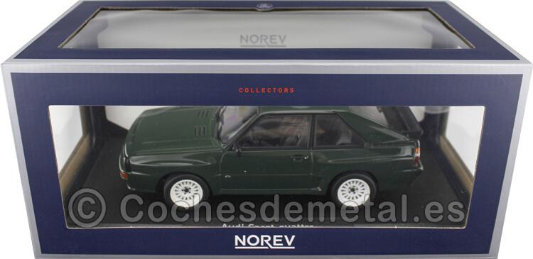 1985 Audi Sport Quattro Dark Green 1:18 Norev 188317