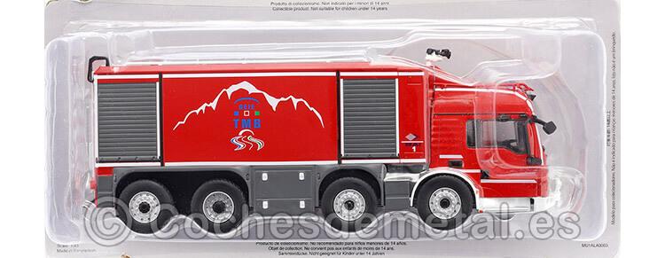 2014 Camión MAN TGS 35540 Proteus Para Rescate en Túnel Rojo 1:43 Editorial Salvat SP03