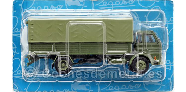 1963 Camión Pegaso Comet 1100 L Ejército de Tierra Verde 1:43 Salvat PEG007