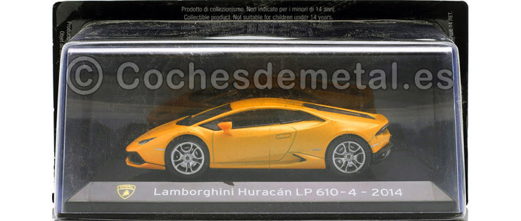 2014 Lamborghini Huracan LP610-4 Coupe Amarillo 1.43 Editorial Salvat SC02