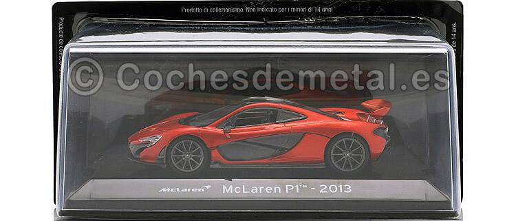 2013 McLaren P1 Rojo 1.43 Editorial Salvat SC03