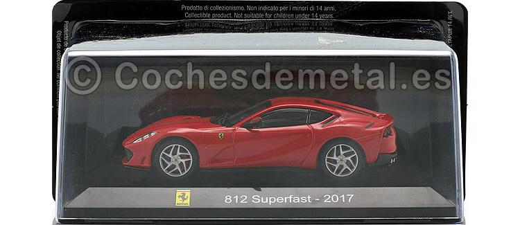 2017 Ferrari 812 Superfast Rojo 1:43 Salvat SC06