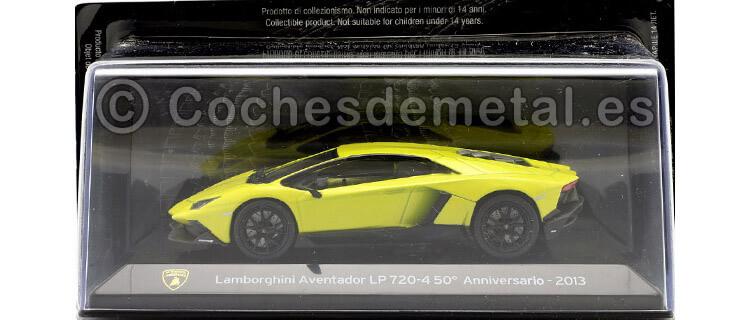 2013 Lamborghini Aventador LP 720-4 SuperCars Amarillo 1:43 Editorial Salvat SC07
