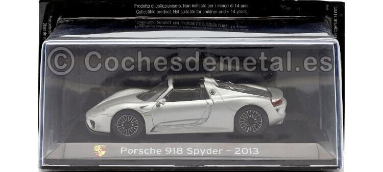 2013 Porsche 918 Spyder SuperCars Plata 1:43 Editorial Salvat SC09