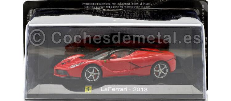 2013 Ferrari LaFerrari SuperCars Rojo-Negro 1:43 Editorial Salvat SC11