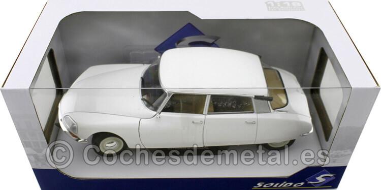 1972 Citroen D-Special DS Blanco 1:18 Solido S1800705