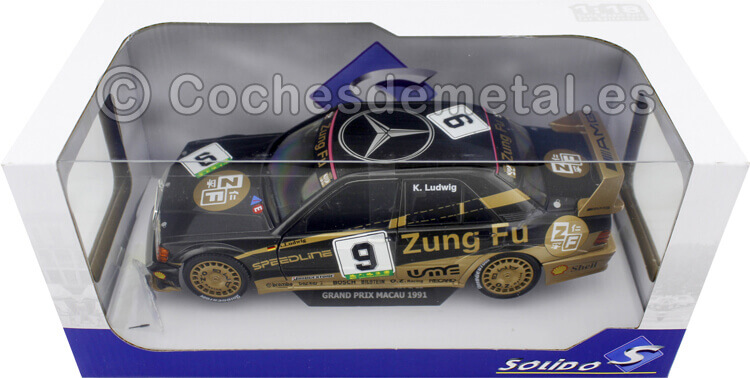 1991 Mercedes-Benz 190E 2.5 16V Evo II Macau Grand Prix DTM Ludwig 1:18 Solido S1801003