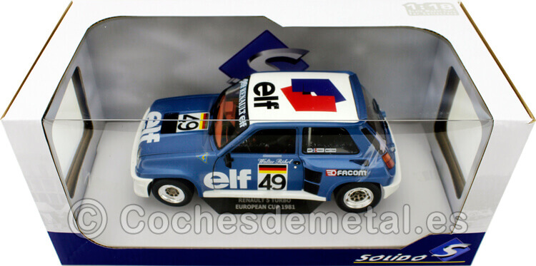 1981 Renault R5 Turbo Grupo B European Rally Walter Rohrl 1:18 Solido S1801307