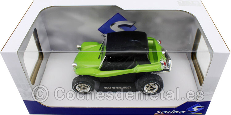1970 Meyers Manx Buggy Soft Roof Verde 1:18 Solido S1802703