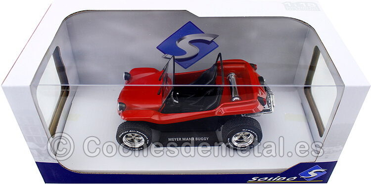 1968 Manx Meyers Buggy Red 1:18 Solido 1802704