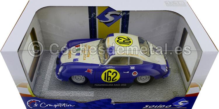 1953 Porsche 356 Super Carrera Panamericana Lippmann 1:18 Solido S1802803