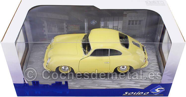 1953 Porsche 356 Pre-A Coupe Amarillo Cóndor 1:18 Solido S1802805
