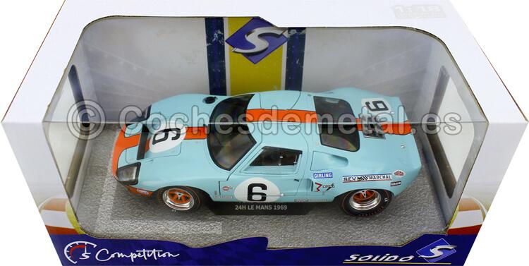 1969 Ford GT40 MK1 Winner 24h LeMans Ickx/Oliver 1:18 Solido S1803003