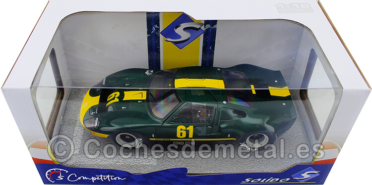 1966 Ford GT 40 MK.1 Jim Clark Ford Performance Collection 1:18 Solido S1803004
