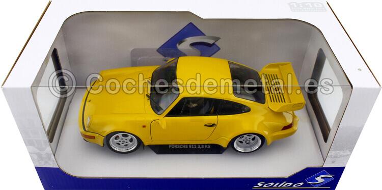 1990 Porsche 911 (964) Carrera 3.8 RSR Jaune Vitesse 1:18 Solido S1803401