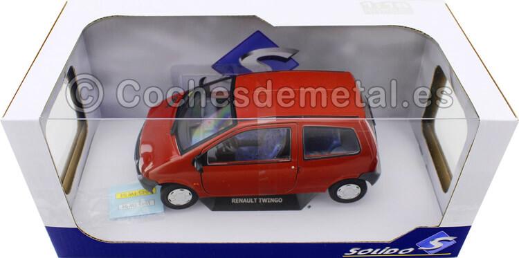 1993 Renault Twingo MK1 Rojo 1:18 Solido S1804002