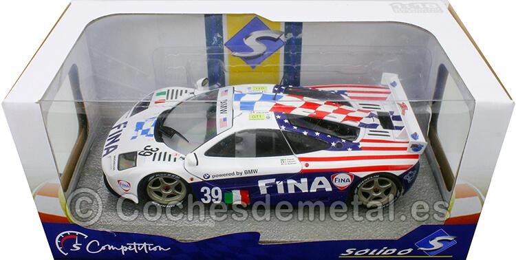 1996 McLaren F1 GTR 24h LeMans Piquet/Cecotto/Sullivan 1:18 Solido S1804103