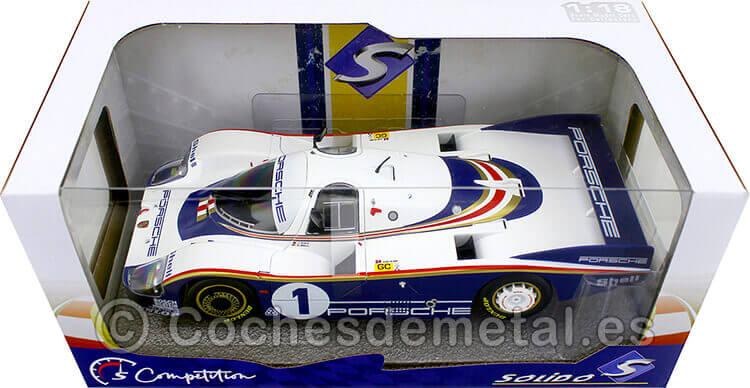 1982 Porsche 956LH Winner 24h LeMans Icks/Bell 1:18 Solido S1805501