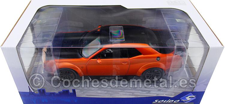 2020 Dodge Challenger SRT Hellcat Redeye Widebody Naranja 1:18 Solido S1805703