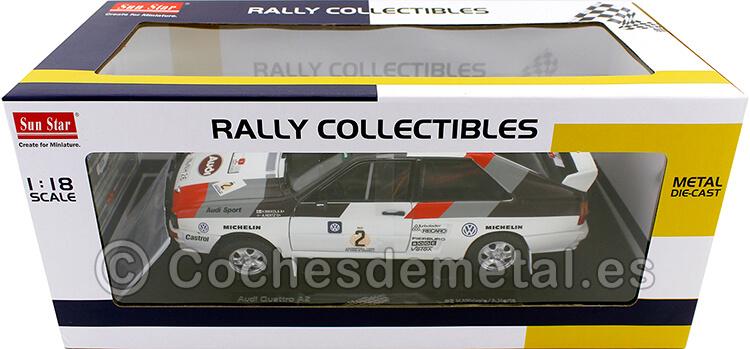1983 Audi Quattro A2 Winner Rally Argentina 1:18 Sun Star 4250