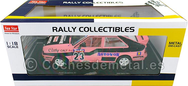 1987 Audi Quattro A1 French Rallycross Championship 1:18 Sun Star 4251