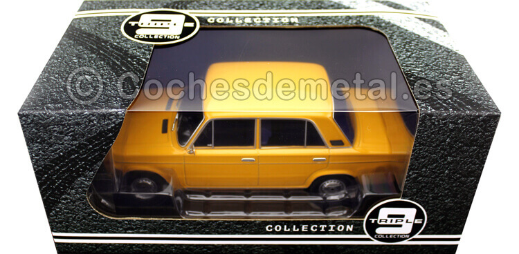 1976 Lada 2106 (Seat 124) Golden Yellow 1:18 Triple-9 1800240