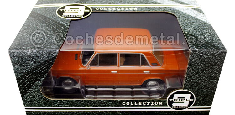1976 Lada 2106 (Seat 124) Red Orange 1:18 Triple-9 1800241