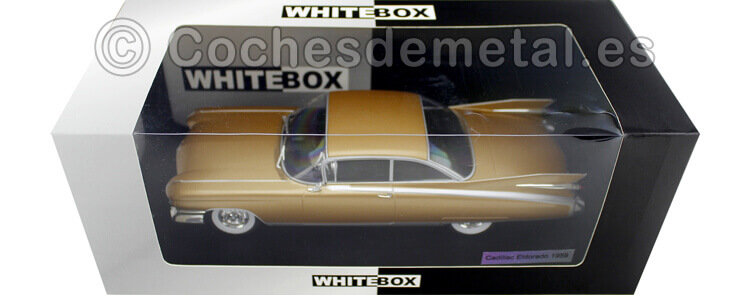 1959 Cadillac Eldorado Bronce 1:24 WhiteBox 124045