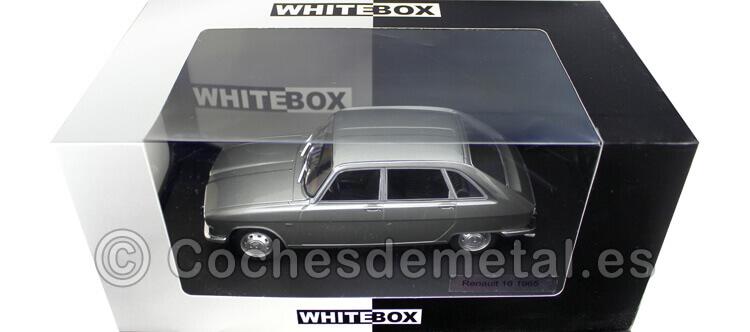 1965 Renault 16 R16 Gris Metalizado 1:24 WhiteBOX 124047