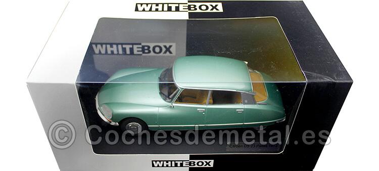 1973 Citroen DS 23 Pallas Verde Metalizado 1:24 WhiteBox 124052