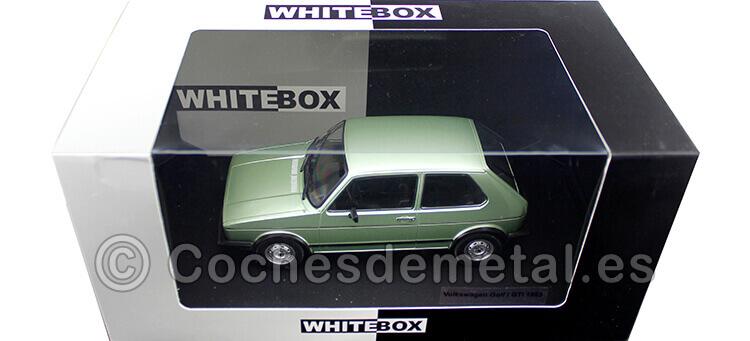 1983 Volkswagen VW Golf MK1 GTI Verde Metalizado 1:24 WhiteBox 124056